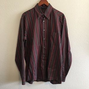 Hugo Boss Other - Hugo Boss Dress Button Down Stripe Shirt