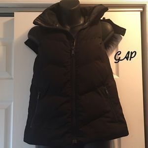 Faux-Fur Hooded Puffer Vest