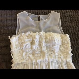Donna Morgan white dress