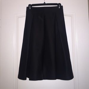 Black alone midi skirt