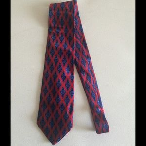 Lanvin Other - Lanvin Blue and Red Tie