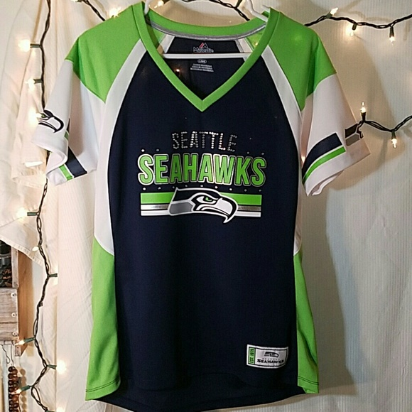 promo code 47124 e9897 Seattle Seahawks women's jersey