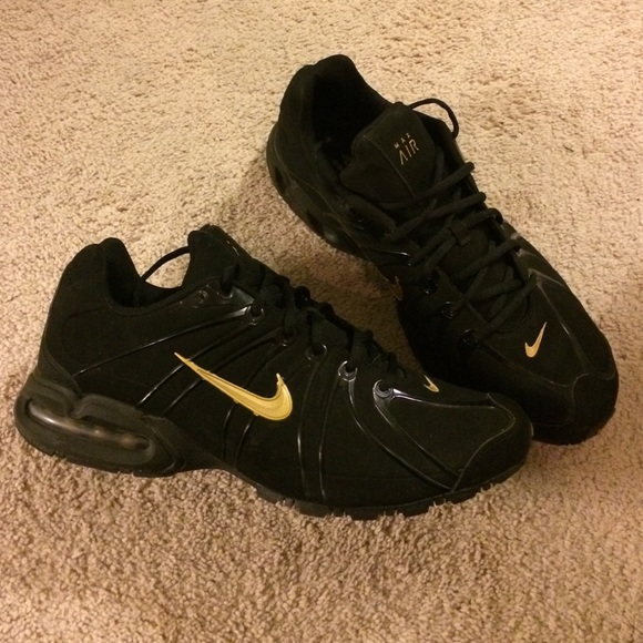 6df8bde50a8a NIKE Air Max TORCH BLACK GOLD 316125 SHOES. M 586af67613302a2eca0269c5