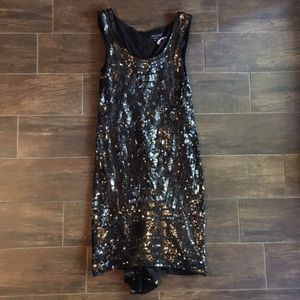 Gryphon Dresses & Skirts - Gryphon Embellished Black Sequin Dress