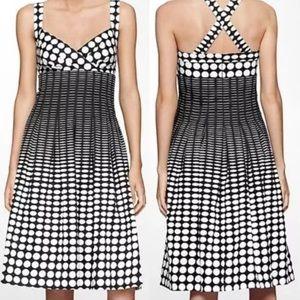 Calvin Klein Summer Dress. Fifty's style Polka Dot