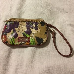 Sac Roots Handbags - Sac Roots floral wristlet Excellent condition