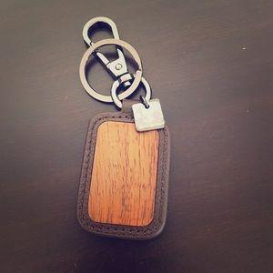 Martin & MacArthur Other - Koa and Leather key ring