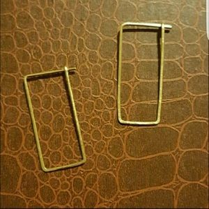 Beora Jewelry Jewelry - Minimal Square Earrings