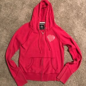 Victoria's Secret PINK zip up sweatshirt