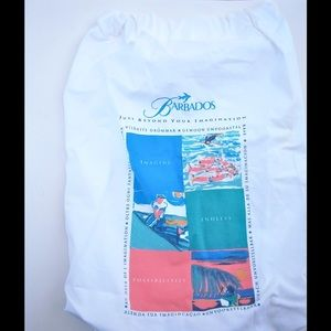 Handbags - Colorful Barbados Cotton Drawstring Back Pack