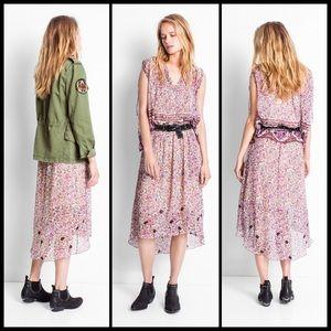 Zadig & Voltaire Dresses & Skirts - ZADIG & VOLTAIRE ✌🏽 Joslin Hi Low Beaded Skirt