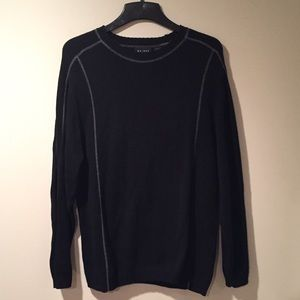Axcess Other - Men's Axcess black sweater w/ grey accents xlarge