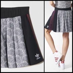 6de6fd0e93 Adidas Skirts | Shell Tile Pleat Mini Nwt | Poshmark