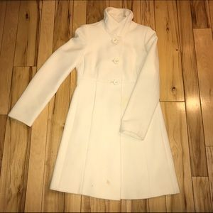 J. Crew Jackets & Blazers - J.Crew Cream Coat