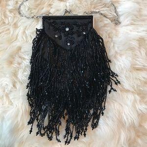 Beaded Tassel Handbag