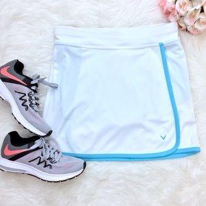 Callaway Dresses & Skirts - Like New Callaway Golf Skort White & Tiffany Blue