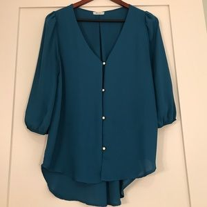 Boutique Everly Blouse Size Medium