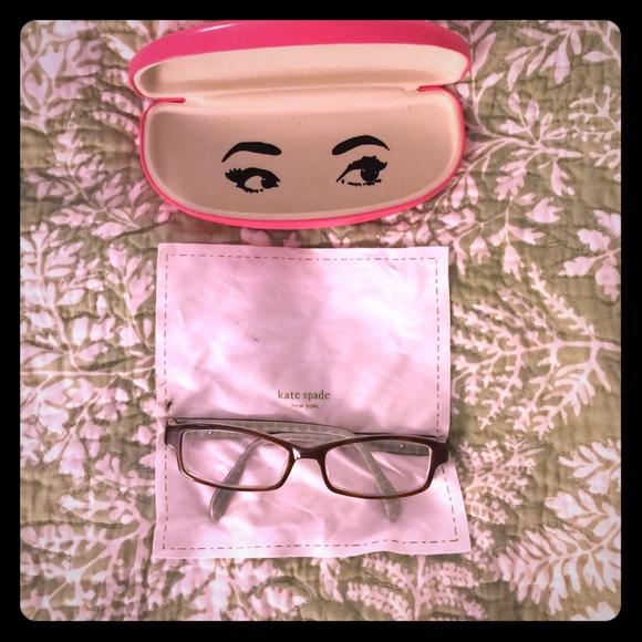 bc75d501e7 kate spade Other - Kate Spade Elizabeth eye glasses brown pink