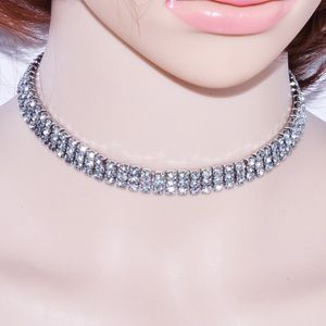 For Love and Lemons Accessories - Diamonds choker