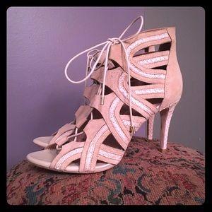 Joie Shoes - EUC Joie Stiletto Gladiator Pump Sandals