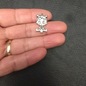 Jewelry - 2 Baby Girl Charms