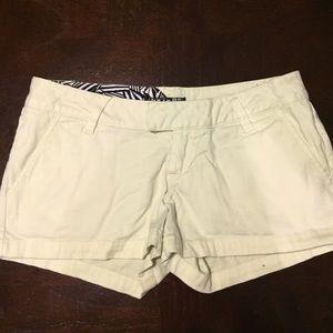 Yellow Volcom Shorts