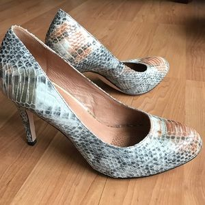 Corso Como Shoes - Corso Como Gray/burnt orange heels