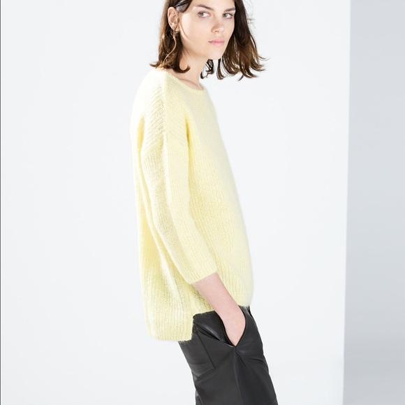 ed6a414c276 Yellow Tunic Sweater - Baggage Clothing