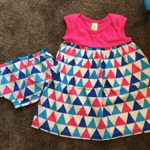 Stem Baby Other - NWT cute & colorful dress for Spring/Summer