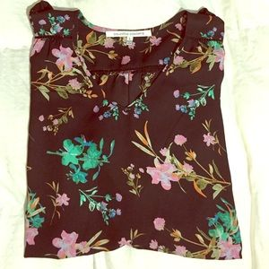 Collective Concepts Tops - 3/4 Sleeve Floral Blouse