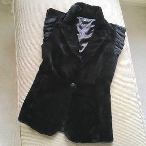 Jocelyn Jackets & Blazers - Jocelyn Long Rabbit Fur Vest