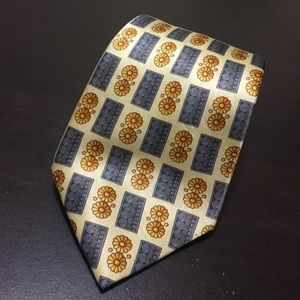 Lanvin Other - • Lanvin Paris yellow 100% silk tie •