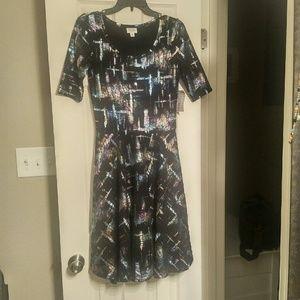 NWT Lularoe Elegance Collection Nicole Dress