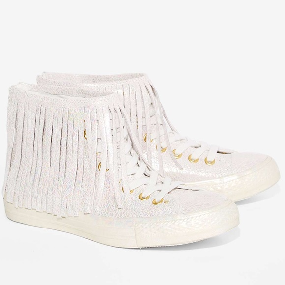Converse Shoes - Converse All Star Mermaid Leather High-Top Leather f586e28a6
