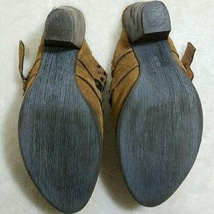 ba1037c71f nicole Shoes - Nicole Suede Mules Studded Straps 4