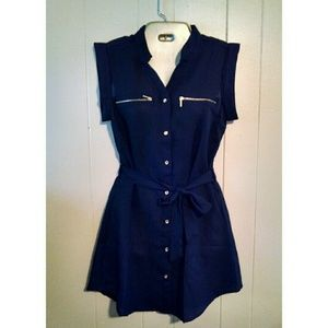 NWT Indulge Sheer Dress/Tunic