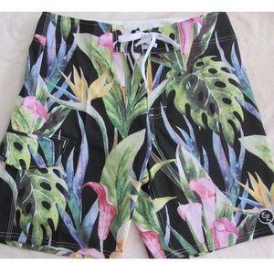 Ezekiel Other - 🆕 MEN: Ezekiel Paradise Shorts Floral