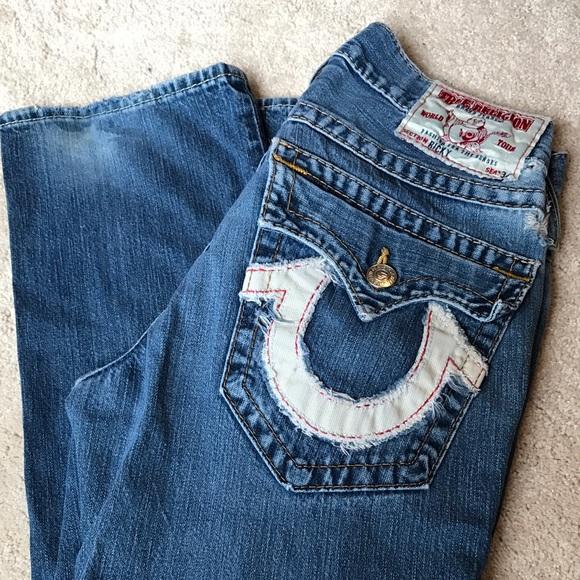 755eac0c56 Men s Ricky True Religion Brand Jeans. M 586b199d5c12f8795c030fa7