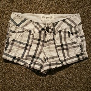 Aeropostale Pants - Checkered Cuffed Shorts Sz 00
