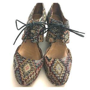 Jeffrey Campbell Shoes - Beautiful Geometric/Aztec Jeffrey Campbell Shoes
