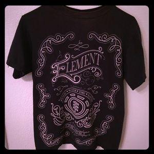 Element Other - Men's Small Black Element T-Shirt