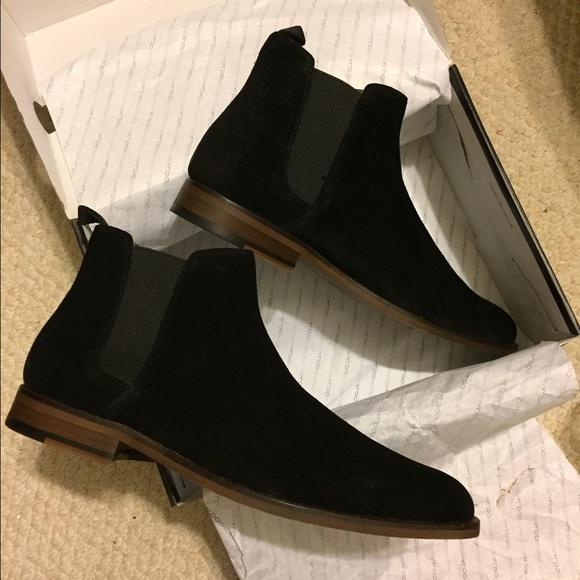 8ec7a93ab3c Men's Black Aldo Chelsea Boots NWT
