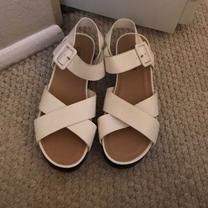 Cathy Jean wedge sandals