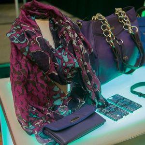 Miche Accessories - Miche's huge 40x72 scarf /pareo in purples/blues