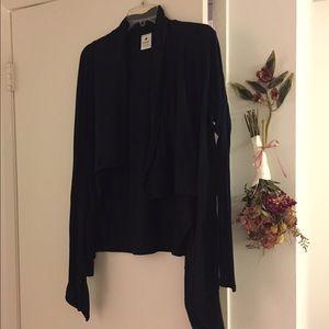 Nux Sweaters - Nux black sweater/wrap, Medium