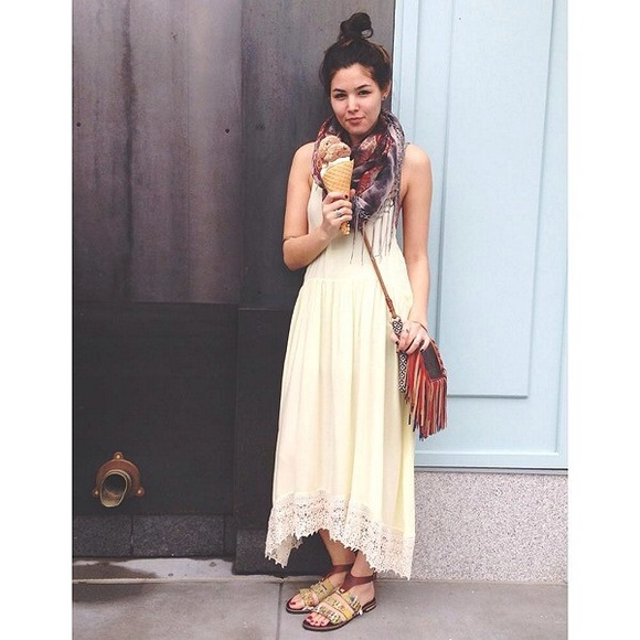 Free People Dresses & Skirts - Free People bohemian maxi dress.