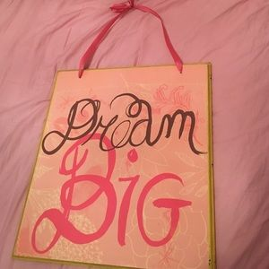 Other - Dream Big Sign