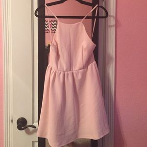 Baby Pink Cocktail Dress