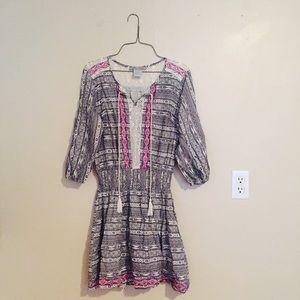 Flying Tomato Dresses & Skirts - Tribal Print Boho Dress