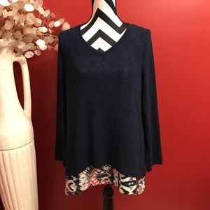 Tops - Final reduction Adorable Navy tunic